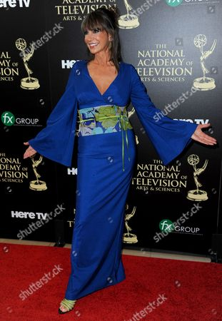 Stock Picture of Jess Walton arrives at the 41st annual Daytime Emmy Awards at the Beverly Hilton Hotel, in Beverly Hills, Calif
