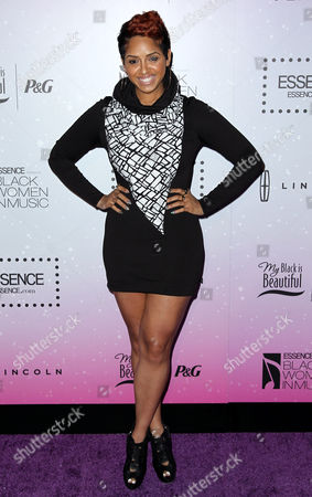 RaVaughn attends the 4th annual ESSENCE Black Women in Music reception at the Greystone Manor on in Los Angeles