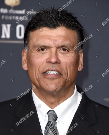 Former NFL player Anthony Munoz arrives at the 4th annual NFL Honors at the Phoenix Convention Center Symphony Hall on