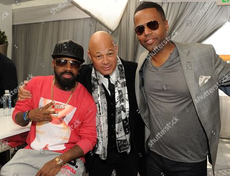 Jeremaine Dupri From left, producers Jermaine Dupri, Narada Michael Walden and TV personality A.J. Calloway attend ASCAP Presents The 2014 Grammy Nominee Brunch, at the SLS Hotel at Beverly Hills on in Beverly Hills, Calif