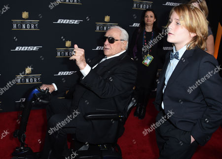 Former NFL coach Don Shula arrives at the 5th annual NFL Honors at the Bill Graham Civic Auditorium, in San Francisco