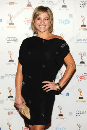 SEPTEMBER 16: Stacey Tookey arrives at the 63rd Primetime Emmy Awards Performers Nominee Reception at Spectra by Wolfgang Puck at the Pacific Design Center on in Los Angeles, California