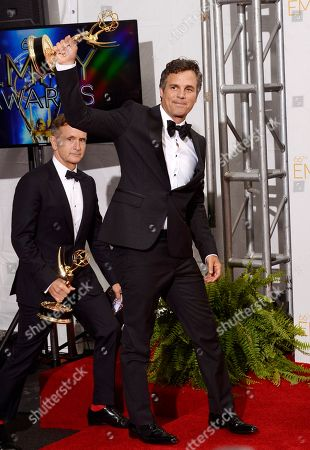 Editorial picture of 66th Primetime Emmy Awards - Press Room, Los Angeles, USA