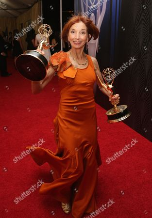 Jane Anderson attends the 67th Primetime Emmy Awards, at the Microsoft Theater in Los Angeles