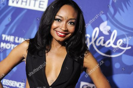 Malina Moye arrives at the 6th Annual ESSENCE Black Woman In Music held at Avalon, in Los Angeles