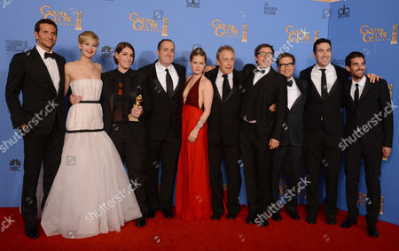 Editorial photo of 71st Annual Golden Globe Awards - Press Room, Beverly Hills, USA
