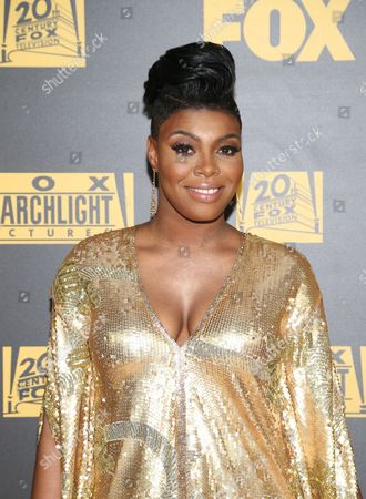 TaRhonda Jones arrives at the FOX Golden Globes afterparty, at the Beverly Hilton Hotel in Beverly Hills, Calif