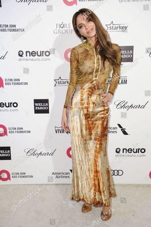Editorial photo of 87th Academy Awards - 2015 Elton John AIDS Foundation Oscar Party, West Hollywood, USA