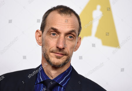 Anthony Stacchi arrives at the 87th Academy Awards nominees luncheon at the Beverly Hilton Hotel, in Beverly Hills, Calif