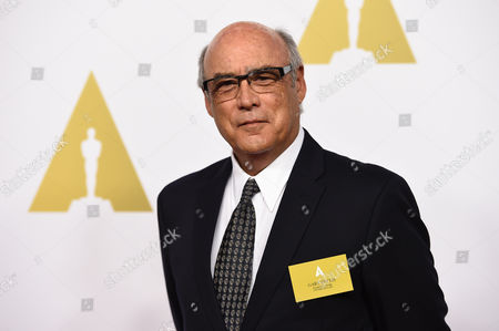 Gary Fettis arrives at the 87th Academy Awards nominees luncheon at the Beverly Hilton Hotel, in Beverly Hills, Calif
