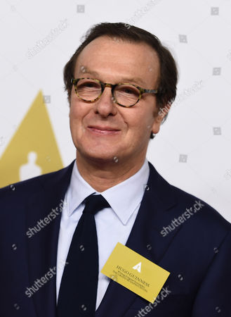 Hugo Guinness arrives at the 87th Academy Awards nominees luncheon at the Beverly Hilton Hotel, in Beverly Hills, Calif
