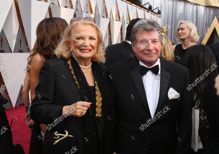 Gena Rowlands, and Robert Forrest arrive at the Oscars, at the Dolby Theatre in Los Angeles