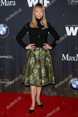 Lauren Bowles arrives at the 9th Annual Women in Film Pre-Oscar Cocktail Party at Hyde Sunset Kitchen + Cocktails, in Los Angeles