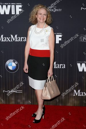Meg LeFauve arrives at the 9th Annual Women in Film Pre-Oscar Cocktail Party at Hyde Sunset Kitchen + Cocktails, in Los Angeles