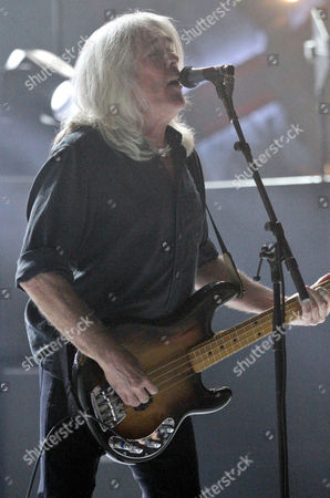 Stock Image of Cliff Williams with AC/DC performs at Philips Arena, in Atlanta