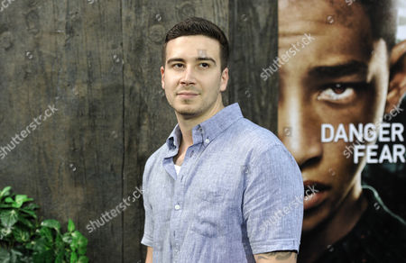 """Stock Picture of Vincent Guadagnino attends the """"After Earth"""" premiere at the Ziegfeld Theatre on in New York"""