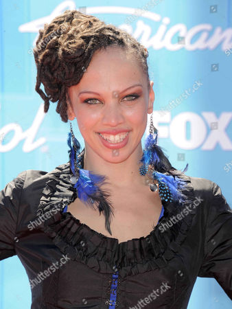 Stock Photo of Naima Adedapo arrives at the American Idol Finale on in Los Angeles