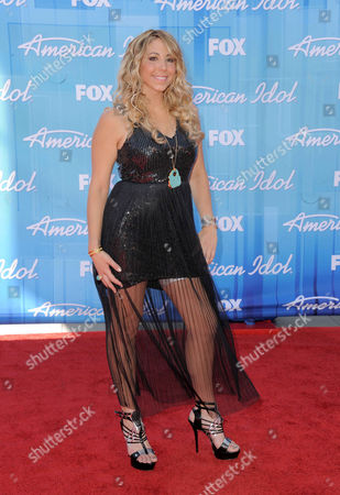 Elise Testone arrives at the American Idol Finale on in Los Angeles