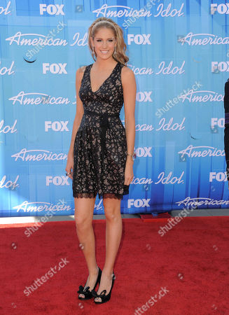 Editorial photo of American Idol Finale Arrivals, Los Angeles, USA