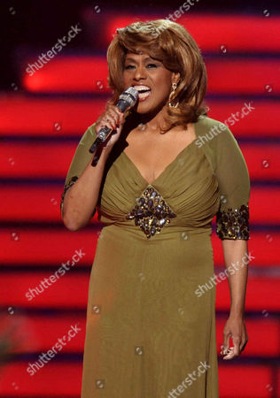 Jennifer Holliday performs onstage at the American Idol Finale on in Los Angeles