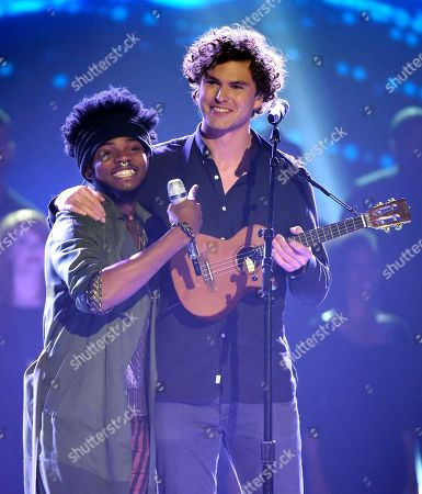 Editorial picture of American Idol XIV Finale - Show, Los Angeles, USA