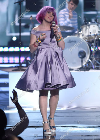 Joey Cook performs at the American Idol XIV finale at the Dolby Theatre, in Los Angeles