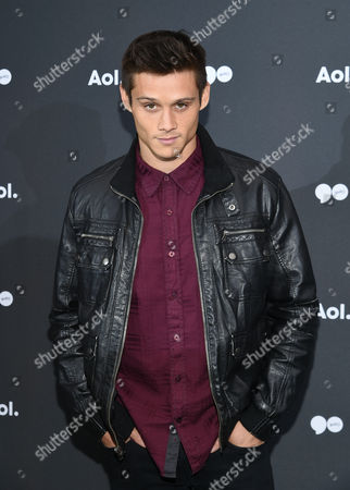 Stock Image of Actor Tim Granaderos attends the AOL NewFront at the South Street Seaport, in New York