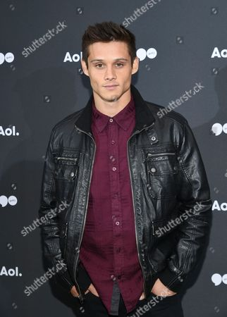 Stock Picture of Actor Tim Granaderos attends the AOL NewFront at the South Street Seaport, in New York