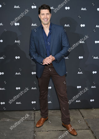 Stock Photo of Tug Coker attends the AOL NewFront at the South Street Seaport, in New York