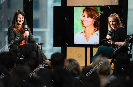 Editorial photo of AOL's BUILD Speaker Series: Melinda Gates, New York, USA