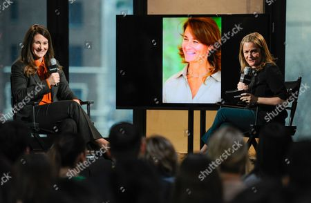 Editorial picture of AOL's BUILD Speaker Series: Melinda Gates, New York, USA