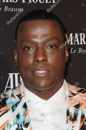 Rapper Won-G Bruny attends Audemars Piguet Beverly Hills boutique opening, in Beverly Hills, Calif