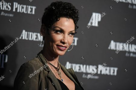 Model Nicole Mitchell Murphy attends the Audemars Piguet Beverly Hills boutique opening, in Beverly Hills, Calif