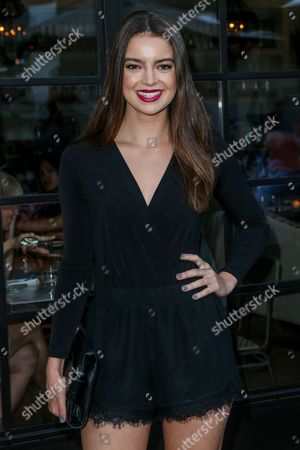 Katherine Hughes attends the BCBGeneration Summer Solstice Party at Gracias Madre on in Los Angeles