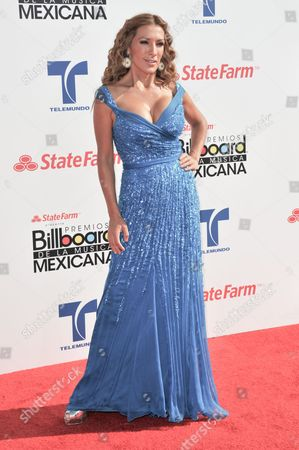 Azucena Cierco attends the 2012 Billboard Mexican Music Awards at the Shrine Auditorium, in Los Angeles