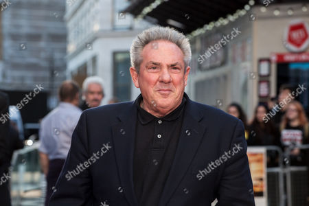 Producer Rick McCallum poses for photographers on arrival at the premiere of the film 'A United Kingdom', which opens the London Film Festival in London, . The festival runs from Oct. 5 until Oct. 16