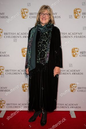 Stock Photo of Janet Healy poses for photographers upon arrival at the BAFTA Children's awards, in London