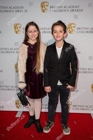 Editorial image of Britain Bafta Childrens Awards, London, United Kingdom