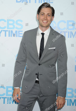 Stock Image of Zack Conroy arrives at The CBS Daytime Emmy Awards Afterparty at the Aqua Star Pool, Beverly Hilton,, in Beverly Hills, CA