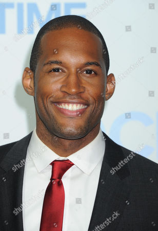 Lawrence Saint Victor arrives at The CBS Daytime Emmy Awards Afterparty at the Aqua Star Pool, Beverly Hilton,, in Beverly Hills, CA