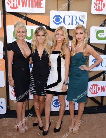 Editorial image of CBS, CW and Showtime's TCA Party, Beverly Hills, USA
