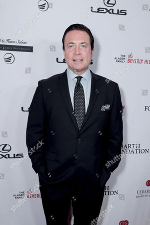 Frank Mottek seen at Cedars-Sinai Board of Governors honoring Adele and Beny Alagem and Sylvester Stallone at 2016 Annual Gala at Beverly Hilton Hotel, in Beverly Hills