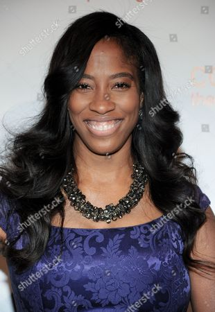 Shondrella Avery arrives at the CoachArt 2013 Gala of Champions at the Beverly Hilton Hotel on in Beverly Hills, Calif