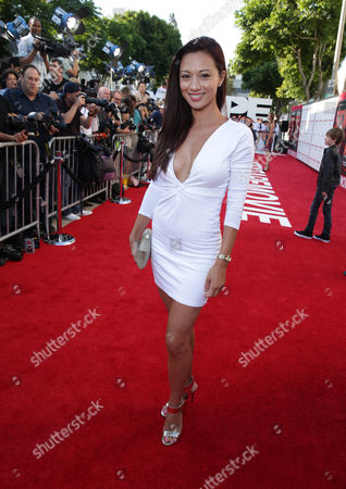 Editorial photo of Columbia Pictures 'Sex Tape' World Premiere, Westwood, USA