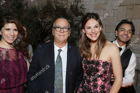 Alessandra Rosaldo, Composer Carlo Siliotto, Jennifer Garner and Eugenio Derbez seen at Columbia Pictures world premiere of 'Miracles from Heaven' at ArcLight Hollywood, in Hollywood, CA