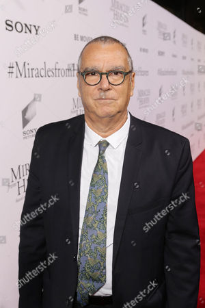 Composer Carlo Siliotto seen at Columbia Pictures world premiere of 'Miracles from Heaven' at ArcLight Hollywood, in Hollywood, CA