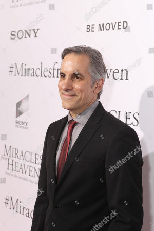 Wayne Pere seen at Columbia Pictures world premiere of 'Miracles from Heaven' at ArcLight Hollywood, in Hollywood, CA