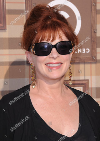 Francis Fisher attends the Comedy Central Roast of Roseanne at the Hollywood Palladium, in Los Angeles