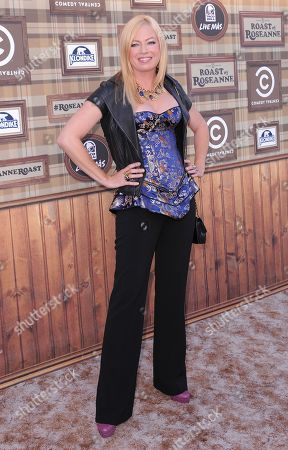 Traci Lords attends the Comedy Central Roast of Roseanne at the Hollywood Palladium, in Los Angeles