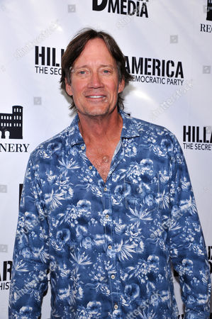 """Kevin Sorbo seen at D'Souza Media Premiere of """"Hillary's America"""", in Los Angeles, CA"""